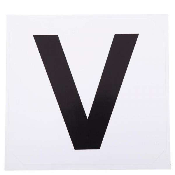 Premiere manegeletter stickers R-V-P-S