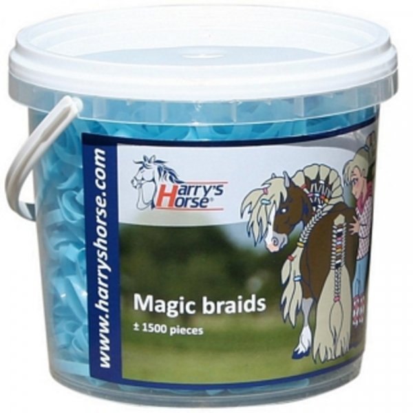 Magic Braids, invlechtelastiekjes in pot