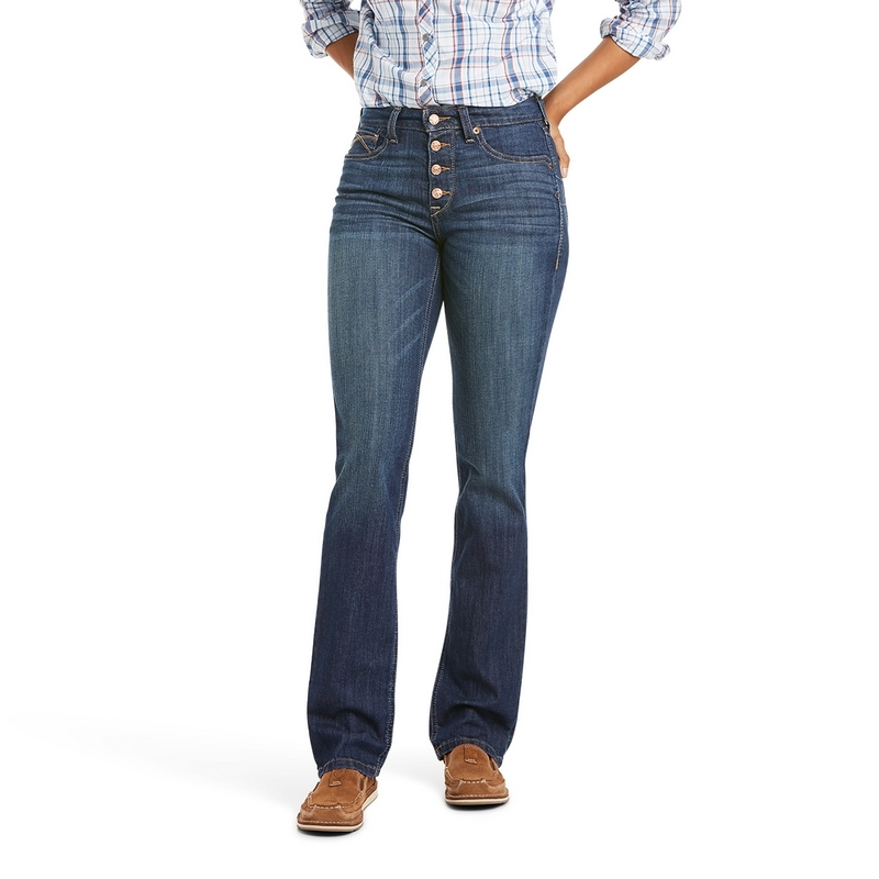 Ariat Real HR Kirstin Straight Ladies Jeans