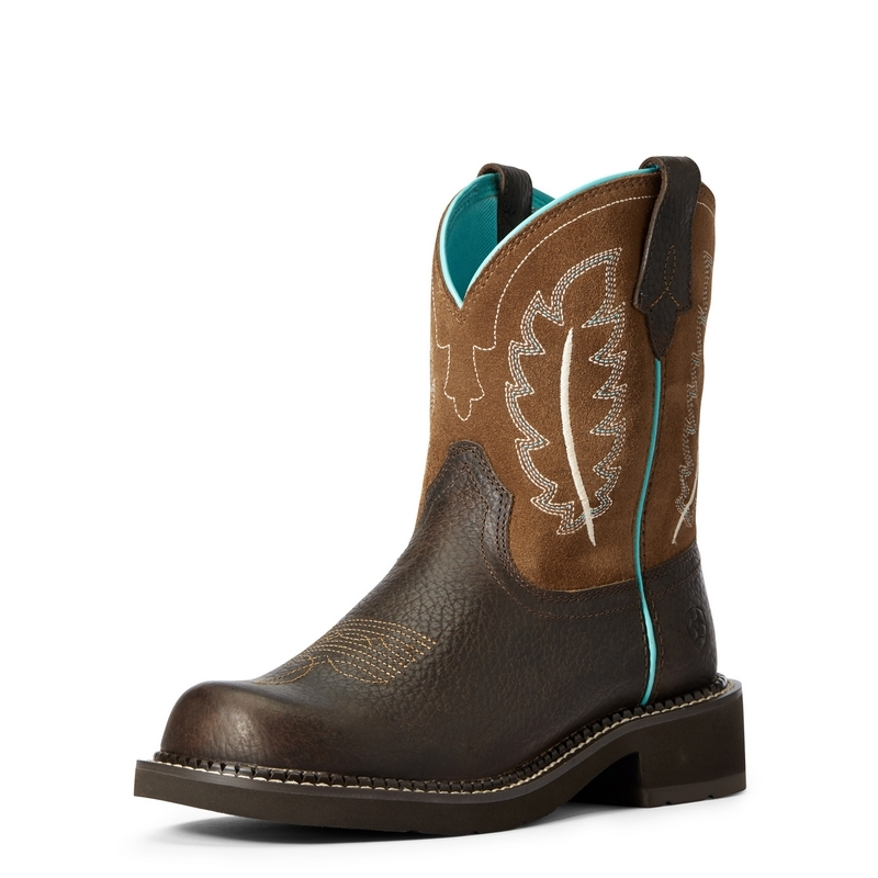 Ariat Fatbaby Heritage Feather II Western Boots