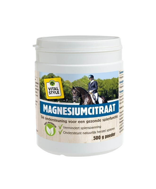 EcoStyle Magnesiumcitraat paard 500g
