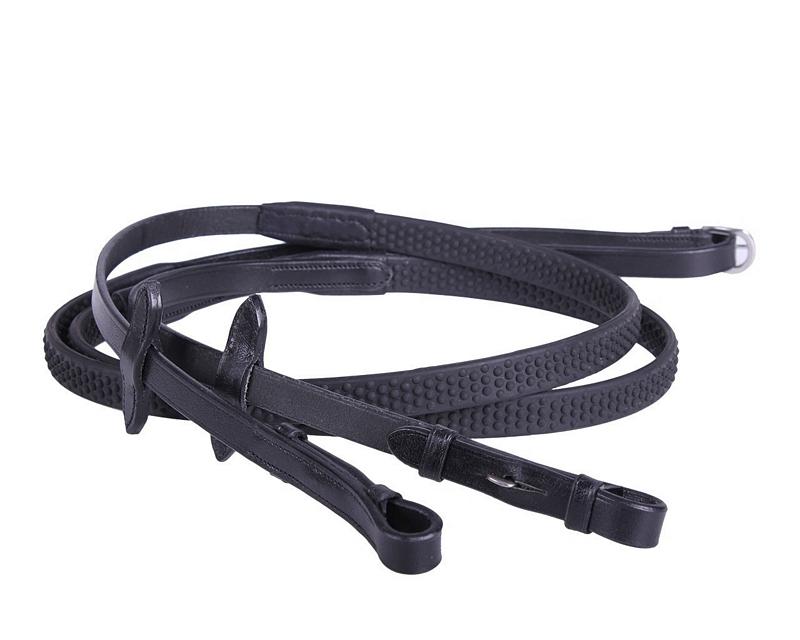 QHP Teugel rubber Soft m- blinde sluitingen
