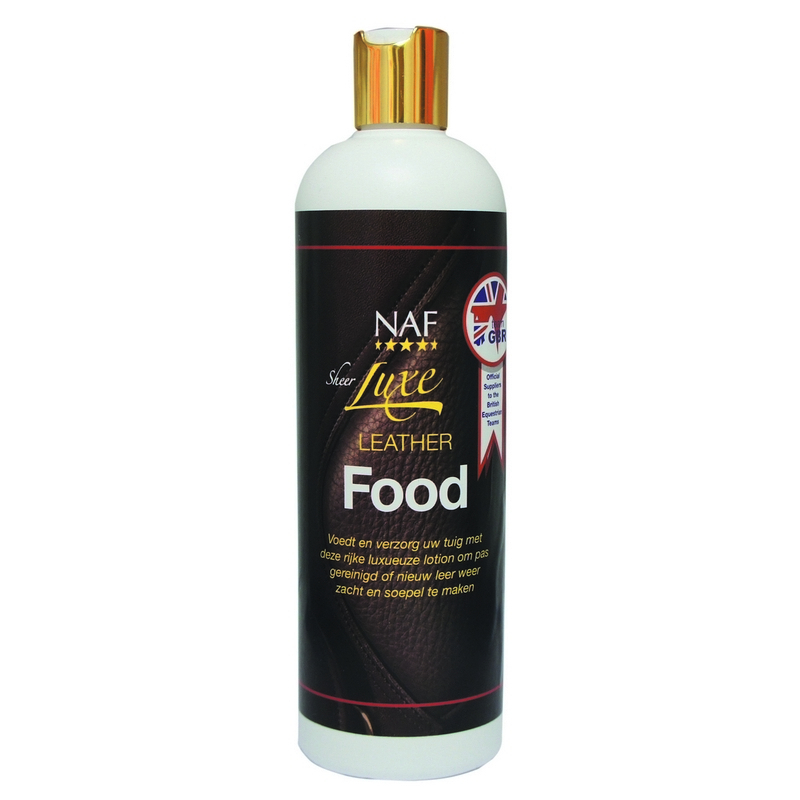 NAF SHEERLUXE Leatherfood 500ml