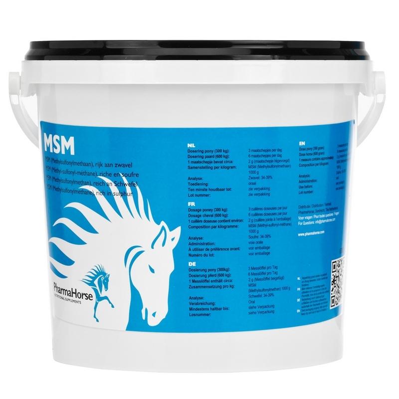 PharmaHorse MSM Paard 3000gram