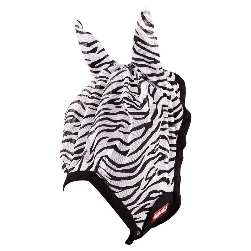Premiere Vliegenmasker m/oren Zebra