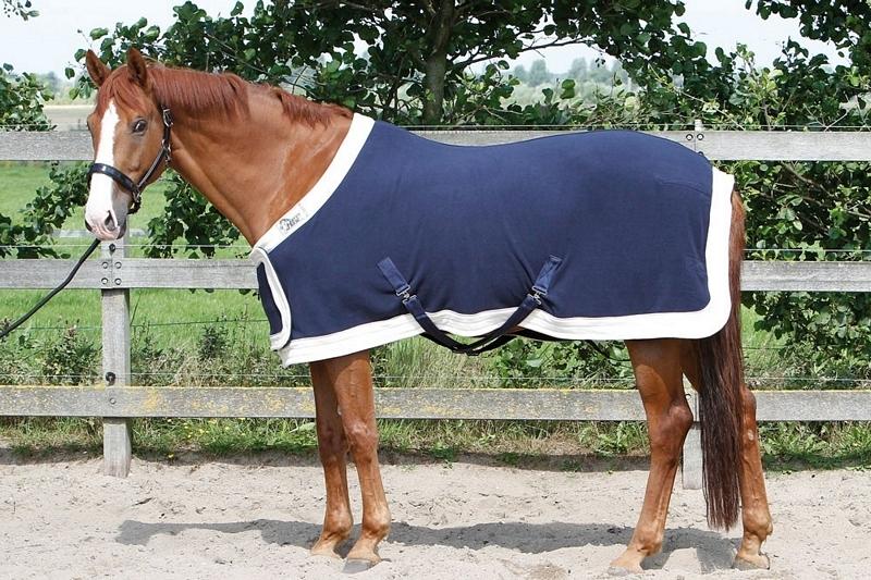 Harry's Horse Fleecedeken Staatsie met borstflap