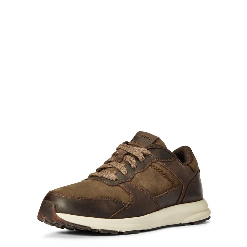 Ariat Fuse Plus Womens Sneaker Chocolate/willow