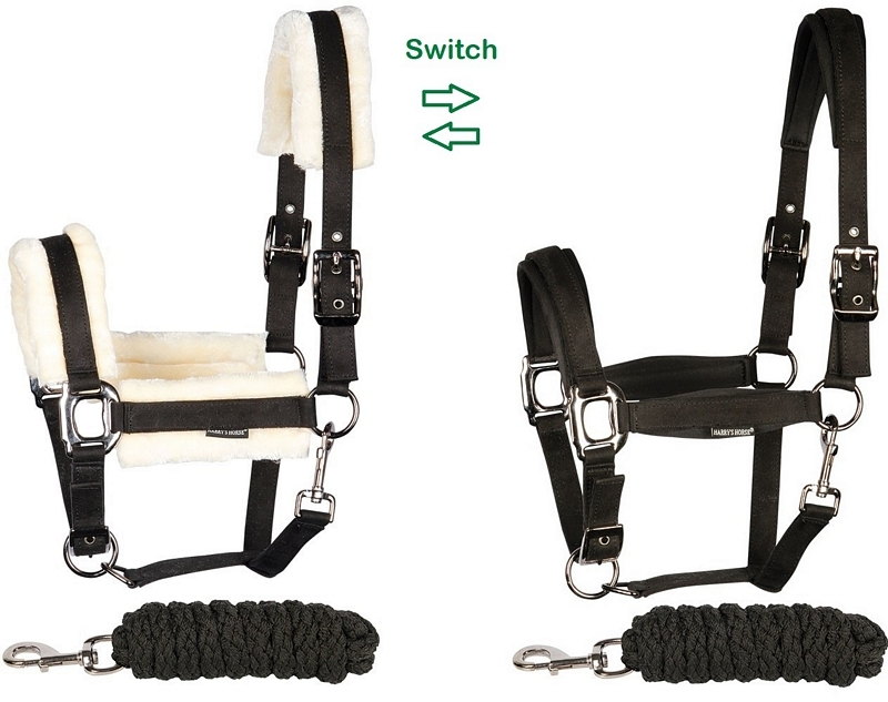 Harry's Horse Halsterset Switch