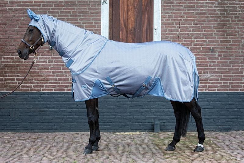 Harrys Horse Vliegendeken mesh Reflective met losse hals