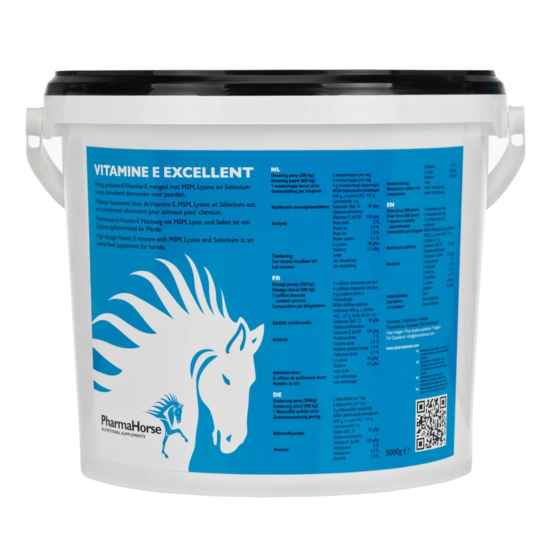 PharmaHorse Vitamine E Excellent 3000gr