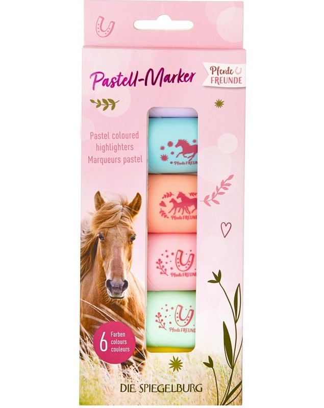 HB Pastel Highlighters Horses