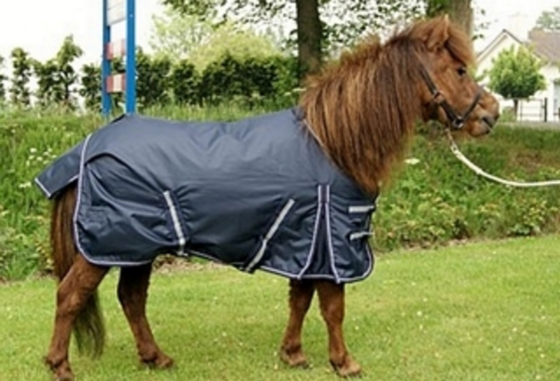 Harry & Hector Pony Outdoordeken 0 grs fleece gevoerd