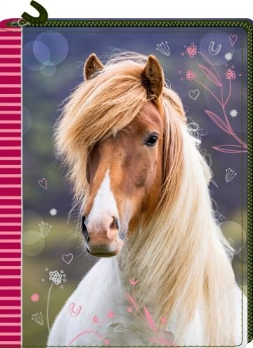 HB Dagboek met rits Horses