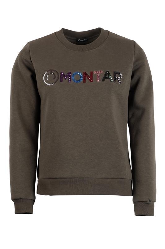 Montar Sweater Bertie Sequin Multi Logo
