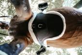 Kentucky Buikflapsingel wol/bont Special