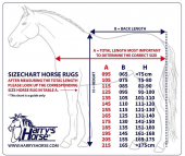 Harry´s Horse Staldeken Highliner 1680D 200gr