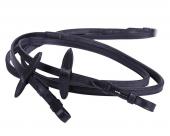 QHP Teugel leder met eenzijdig anti-slip