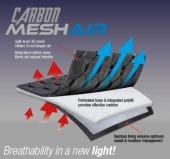 LeMieux Zadeldek Carbon Mesh CC