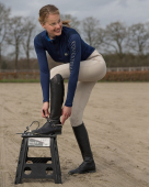 QHP Rijbroek Katie Anti-slip zitvlak