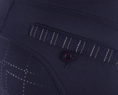 QHP Rijbroek Lindy Anti-slip zitvlak