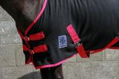 DKR Sports Mini Fleecedeken met singels