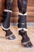 Eskadron Boots Faux Fur Mesh