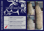 Harry's Horse Hooinet Heavy Duty 50*180cm