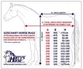 Harry's Horse Regendeken 0gr STOUT! Blue